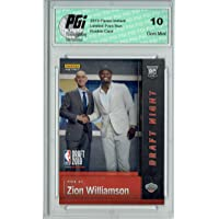 $49 » Zion Williamson 2019 Panini Instant #DN-ZW 1st Rookie Card Ever 17k Made PGI 10
