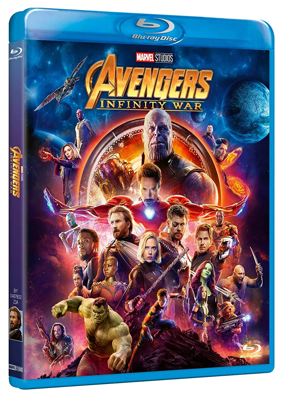 br avengers infinity war [Italia] [Blu-ray]: Amazon.es: vari, vari ...