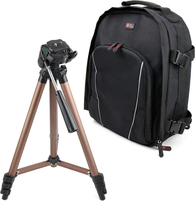 Canon EOS 80D Canon EOS M100 DURAGADGET Zaino Multiscomparti Treppiede Professionale per Fotocamere Canon EOS 800D // Rebel T7i Canon EOS M5 Canon EOS M50