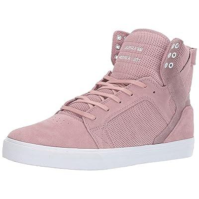 Supra Footwear - Skytop High Top Skate Shoes, Mauve, 10.5 M US Women/9 M US Men: Clothing