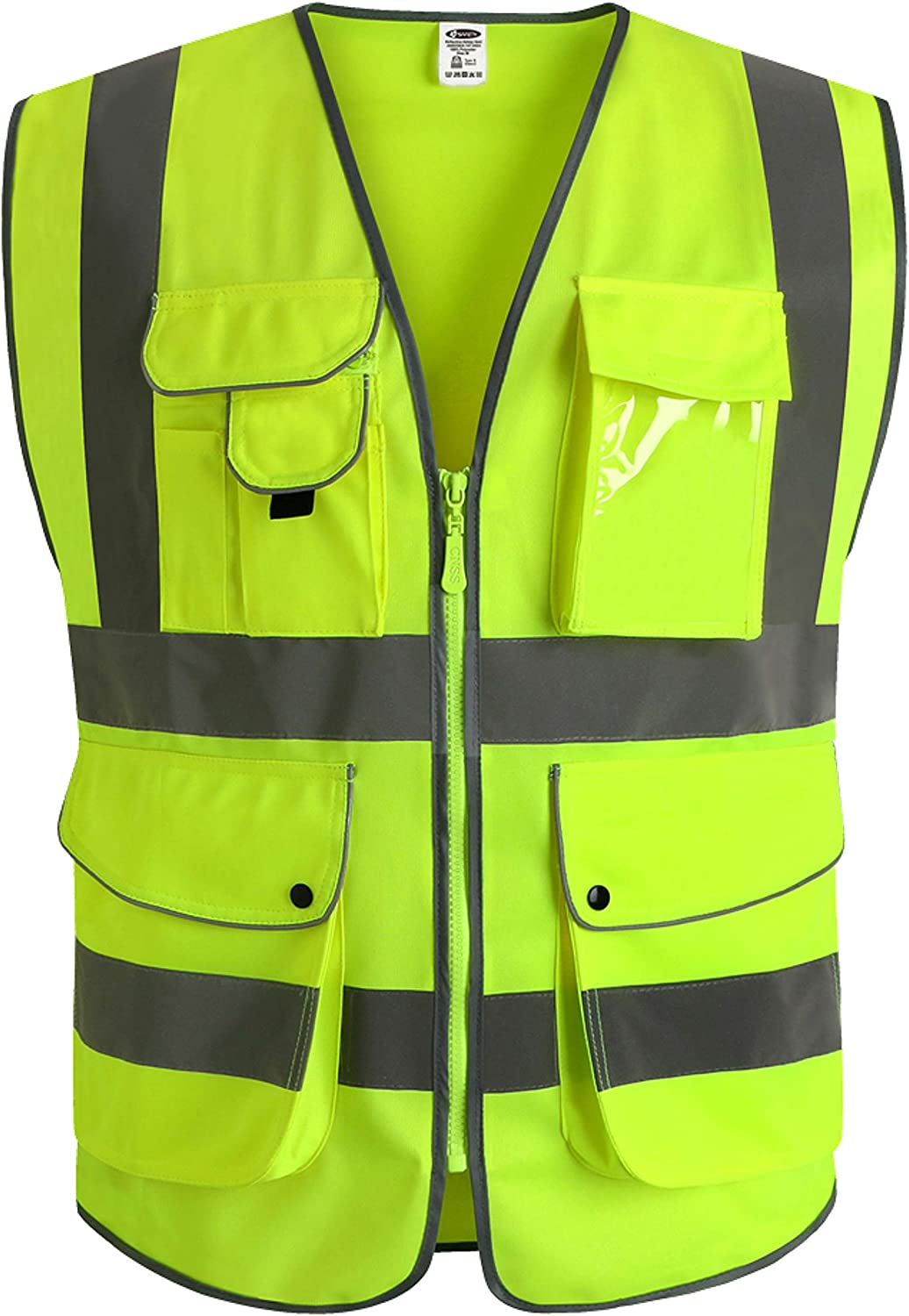 Small Product Image of JKSafety Class 2 High Visibility Safety Vest