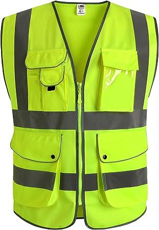 JKSafety Reflective Safety Vest