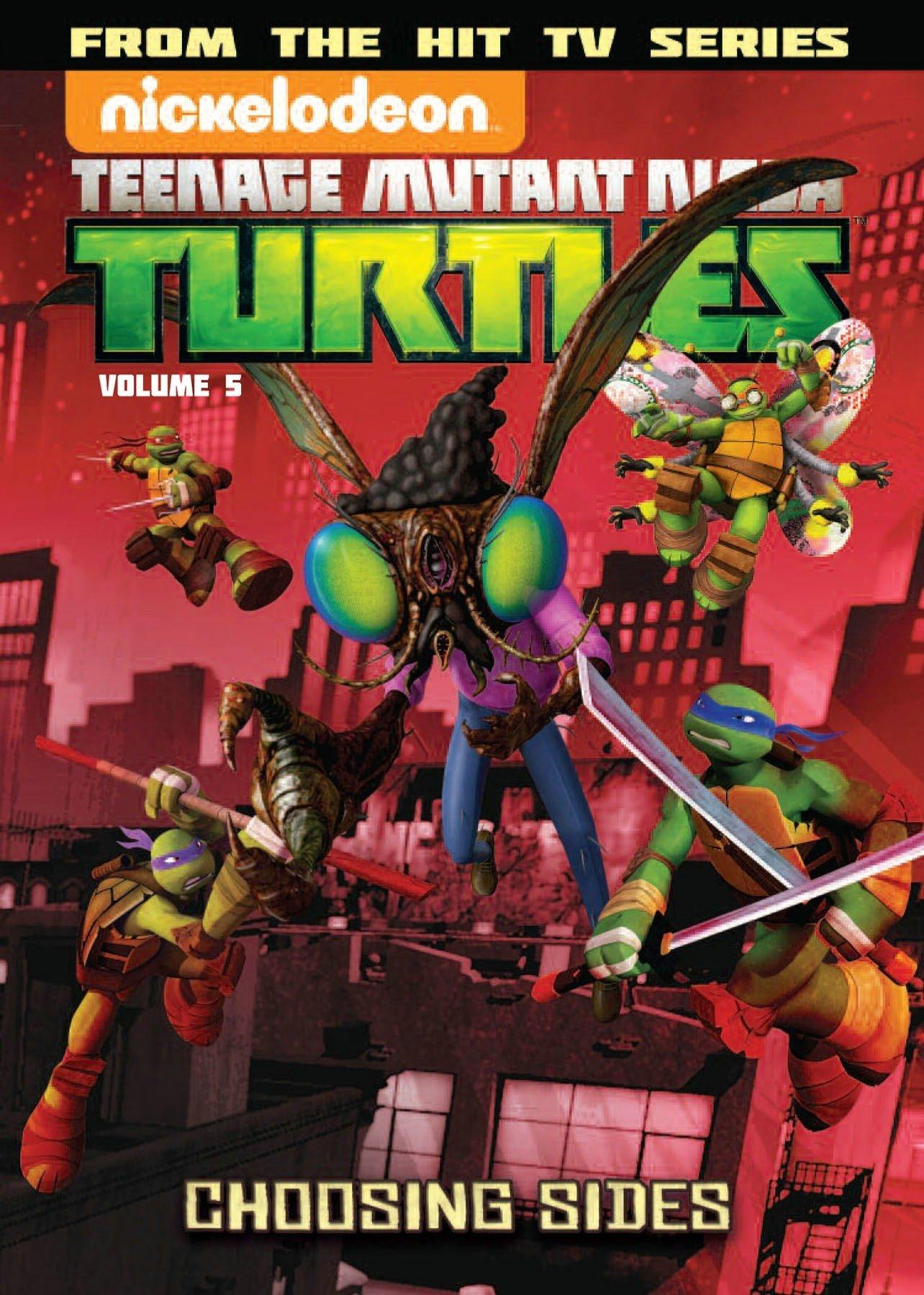 Download Teenage Mutant Ninja Turtles Animated Volume 5: Choosing Sides (TMNT Animated Adaptation) pdf epub