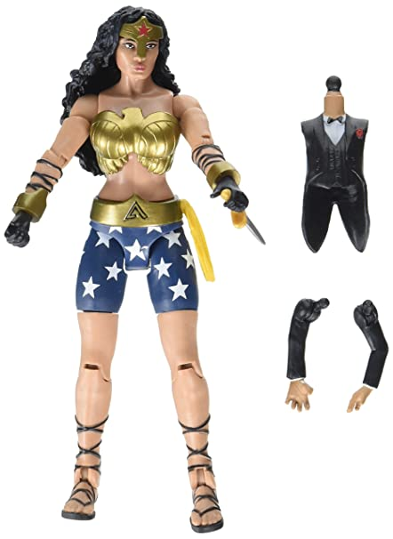 c8dcf2efb29 Image Unavailable. Image not available for. Color  DC Comics Multiverse  Batman The Dark Knight Returns Wonder Woman Action Figure ...