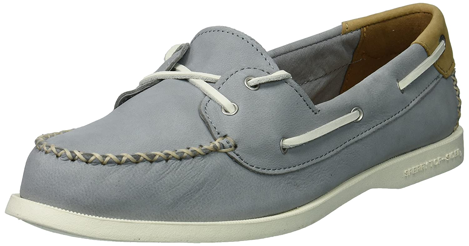 Sperry Top Sider Donna A O Venice Leather Boat Shoe, grigio