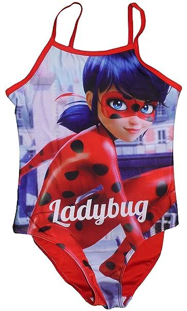 Miraculous Ladybug Niñas Traje De Baño: Amazon.es: Ropa y ...