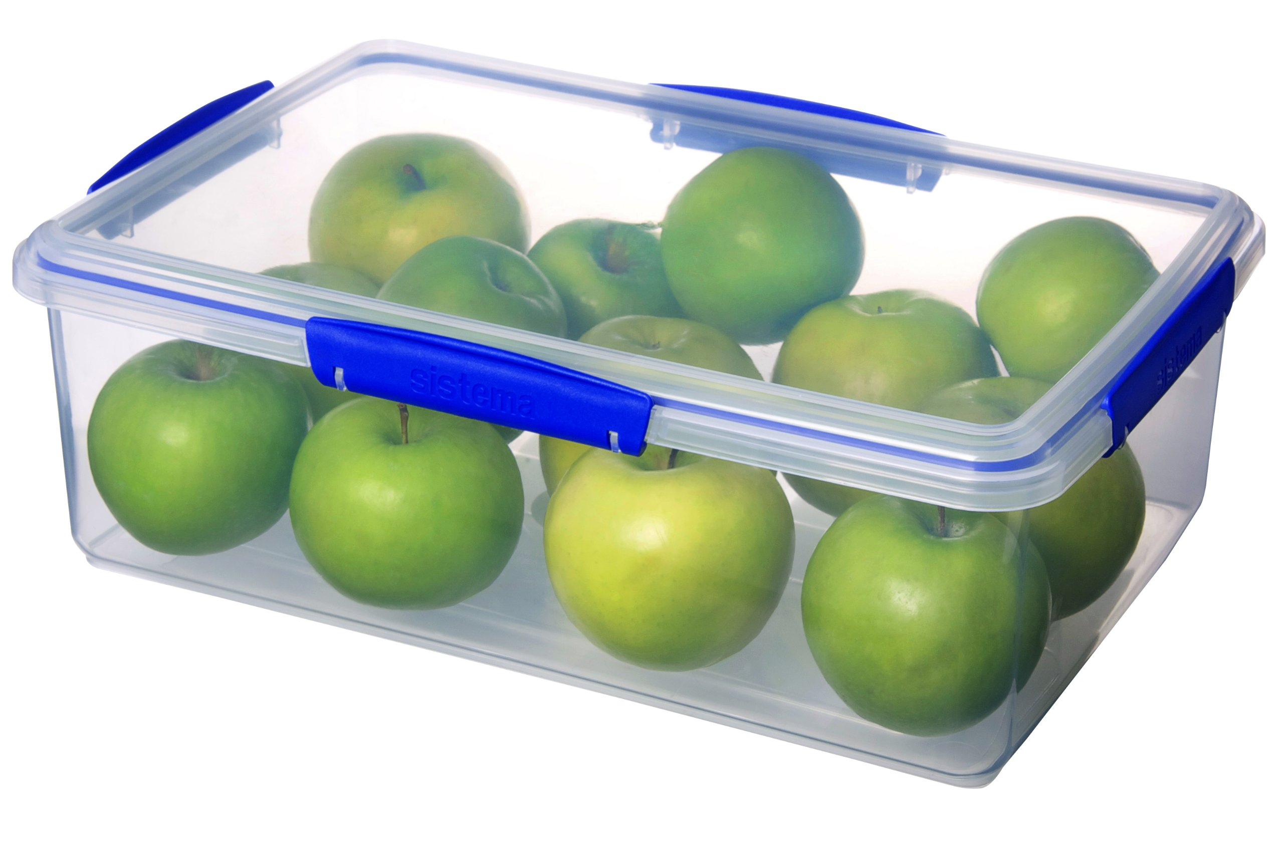 Sistema 1870 Klip It Collection Rectangle Food Storage Container, 236 Ounce by Sistema (Image #2)