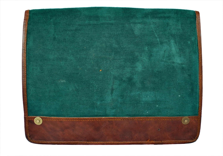 Mangal Murti Handicrafts Leather15Laptop Shoulder Messenger Standard Brown