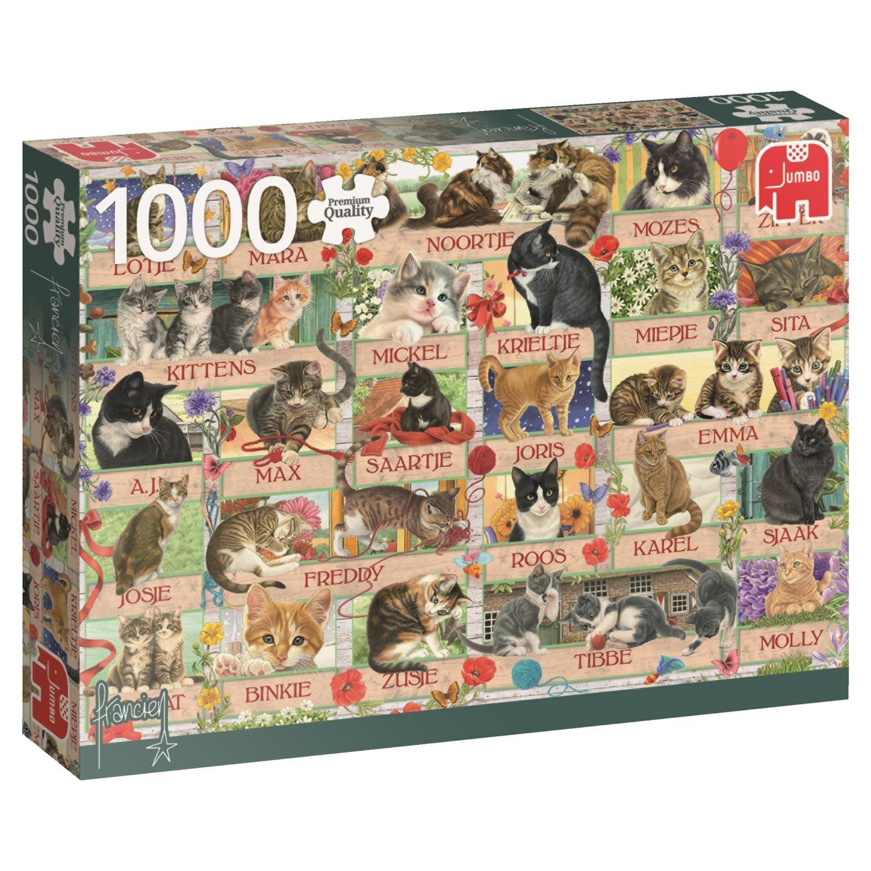 Premium Collection Francien Anniversary Cats 1000 pcs ...