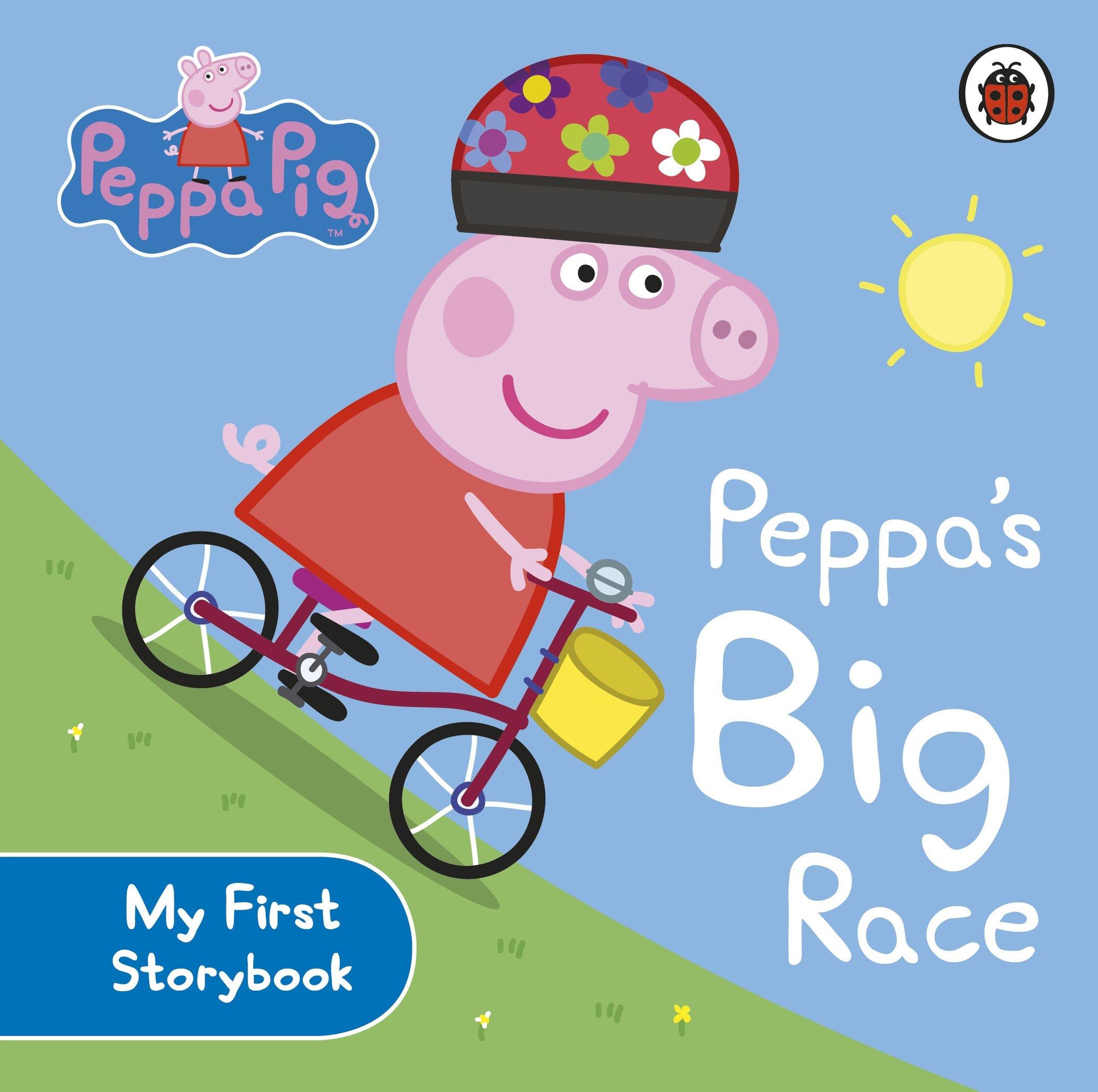 Peppa Pig Peppa S Big Race Amazon Co Uk Peppa Pig 9780723288589