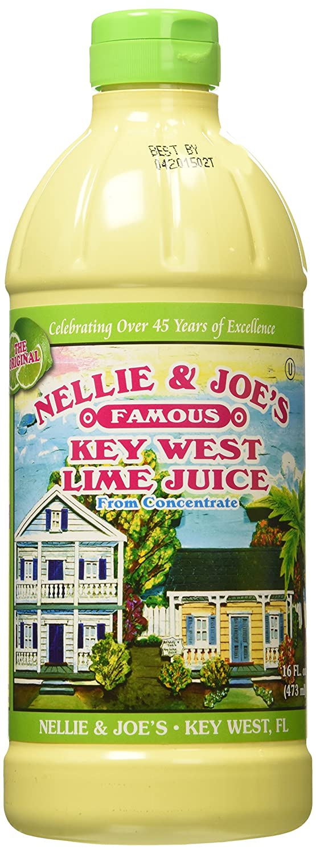 Nellie & Joe Key West Lime Juice, 16 Fl Oz (Pack of 3)