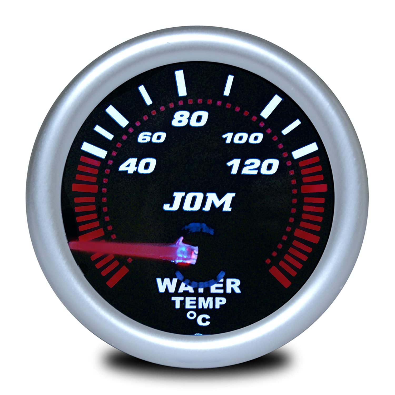 JOM 21116S Manomè tre, tempé rature d'eau, aspect miroir noir température d' eau JOM Car Parts & Car Hifi GmbH