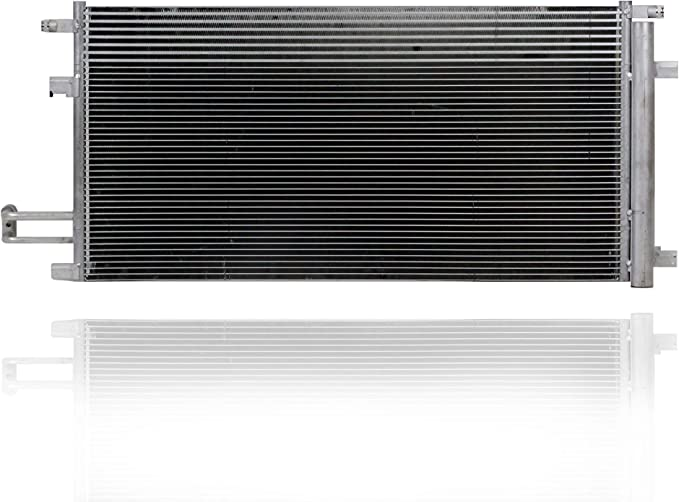 84496856 For Chevy Silverado 1500 A//C Condenser 2014 15 16 17 18 2019 Parallel Flow Configuration 5.3//6.2L w//Transmission Oil Cooler For GM3030306