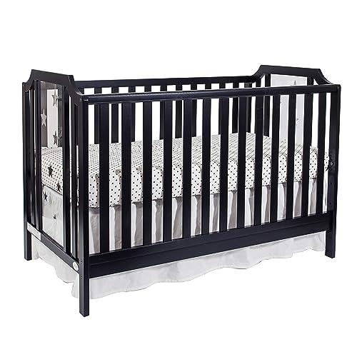Suite Bebe Celeste 3-in-1 Acrylic Island Crib Black