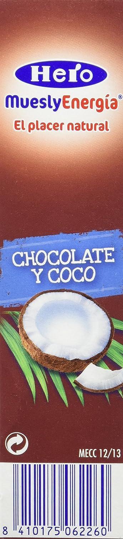 Hero - Barrita de cereales con coco y chocolate con leche, 6x25g - [pack de 5]: Amazon.es: Alimentación y bebidas