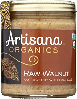 product image for Artisana Organic Raw Walnut Butter, 8 Ounce -- 6 per case.