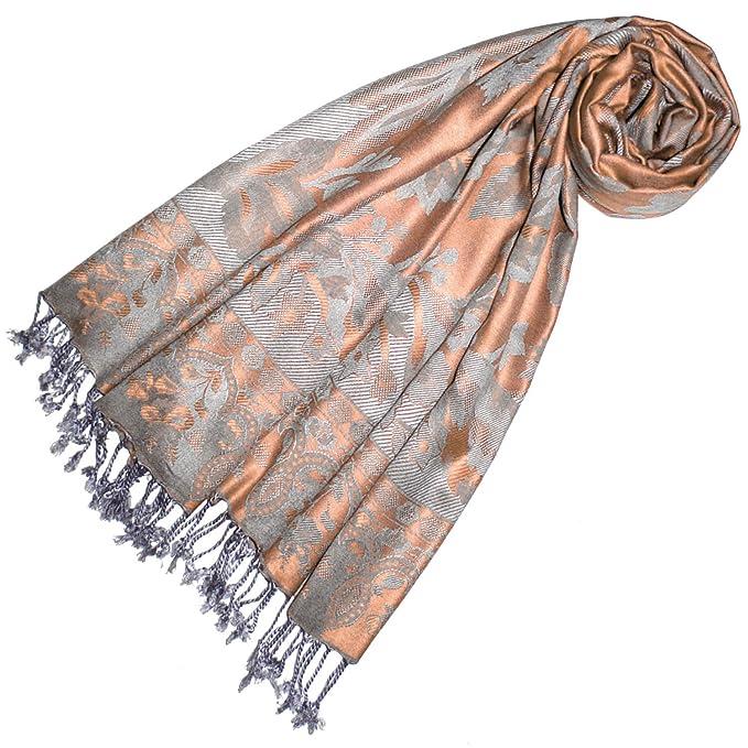 Fransen Damenschal Tuch Pashima Schultertuch Baumwolle Herrenschal