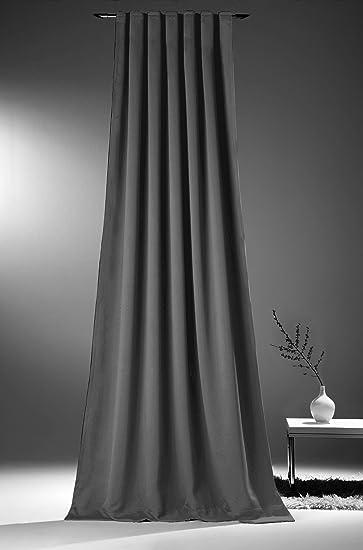 Vorhänge Zum Verdunkeln amazon de novum fix gardine vorhang für verdunkelung