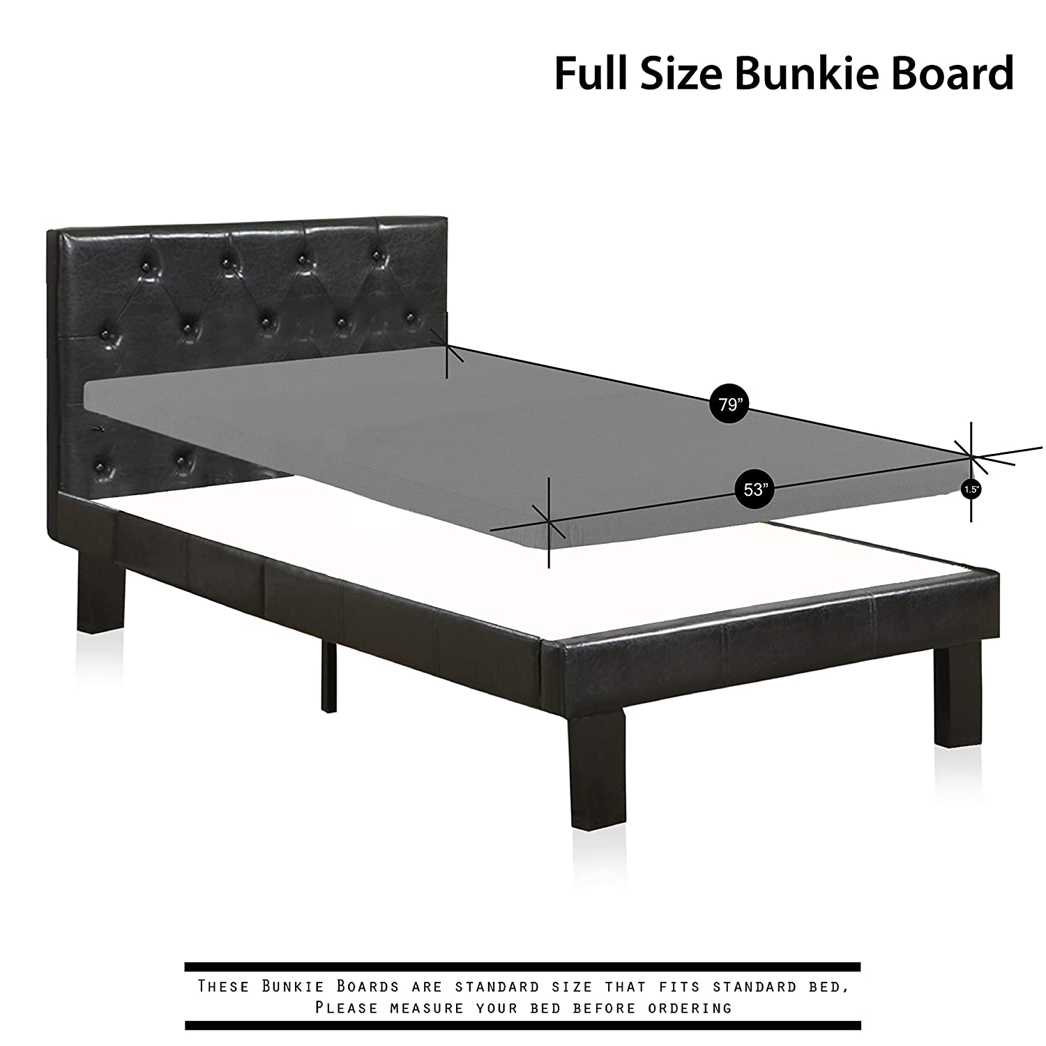 Amazon Spinal Solution 1 5 Inch Solid Wood Bunkie Board