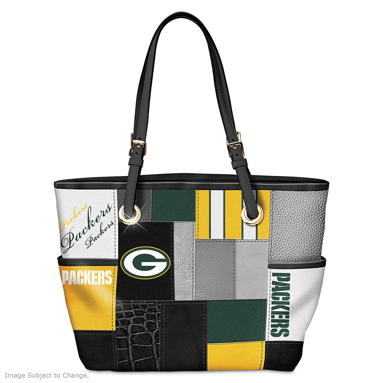 For The Love Of The Game NFL Green Bay Packers Tote Bag by The Bradford Exchange