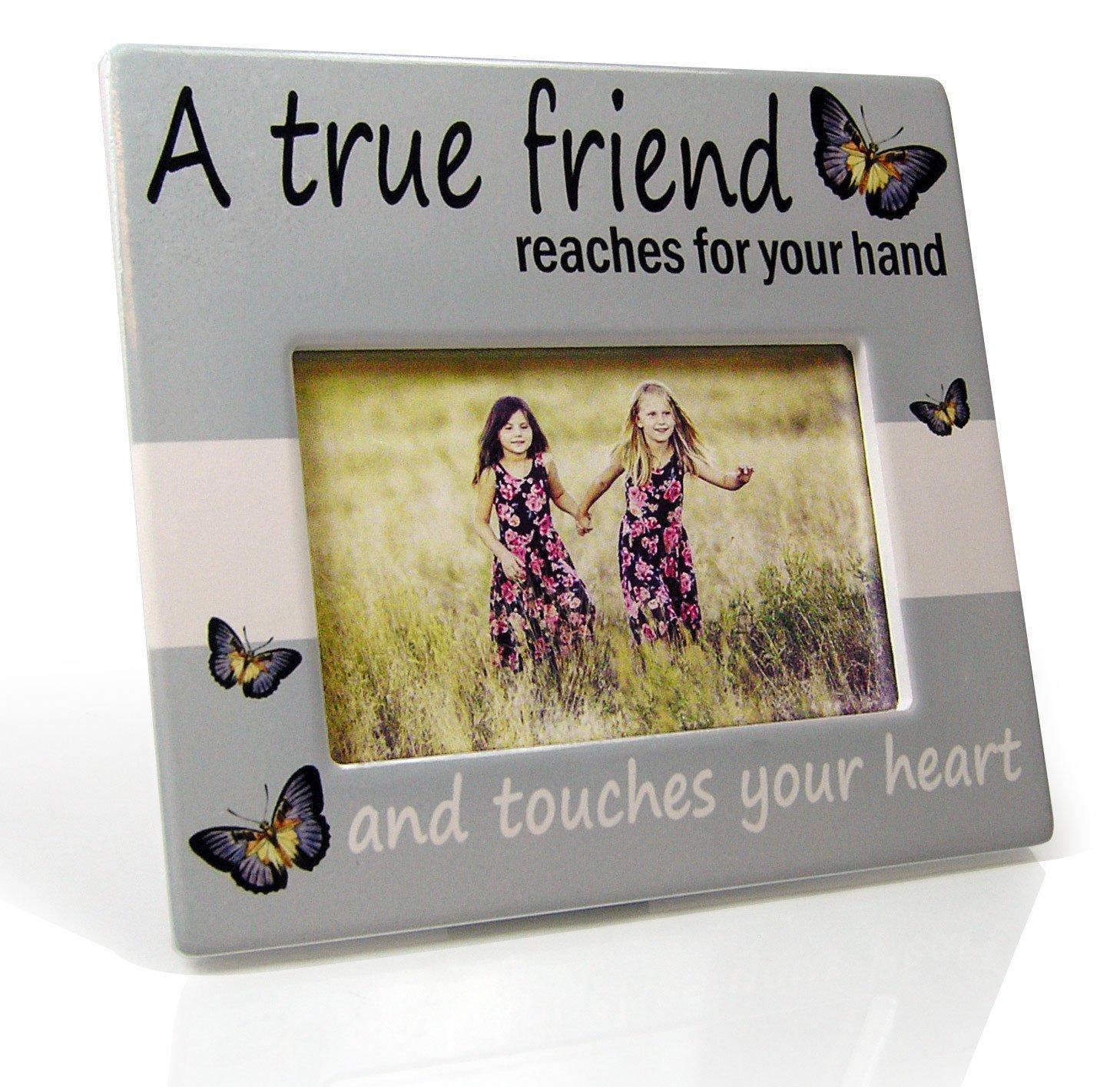 Amazon.com - Friends Picture Frame - A True Friend Reaches For Your ...