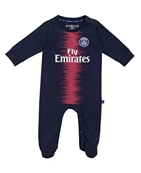 08b636e05ee99 PARIS SAINT GERMAIN Grenouillère bébé PSG - Fly Emirates - Collection  Officielle 12 Mois