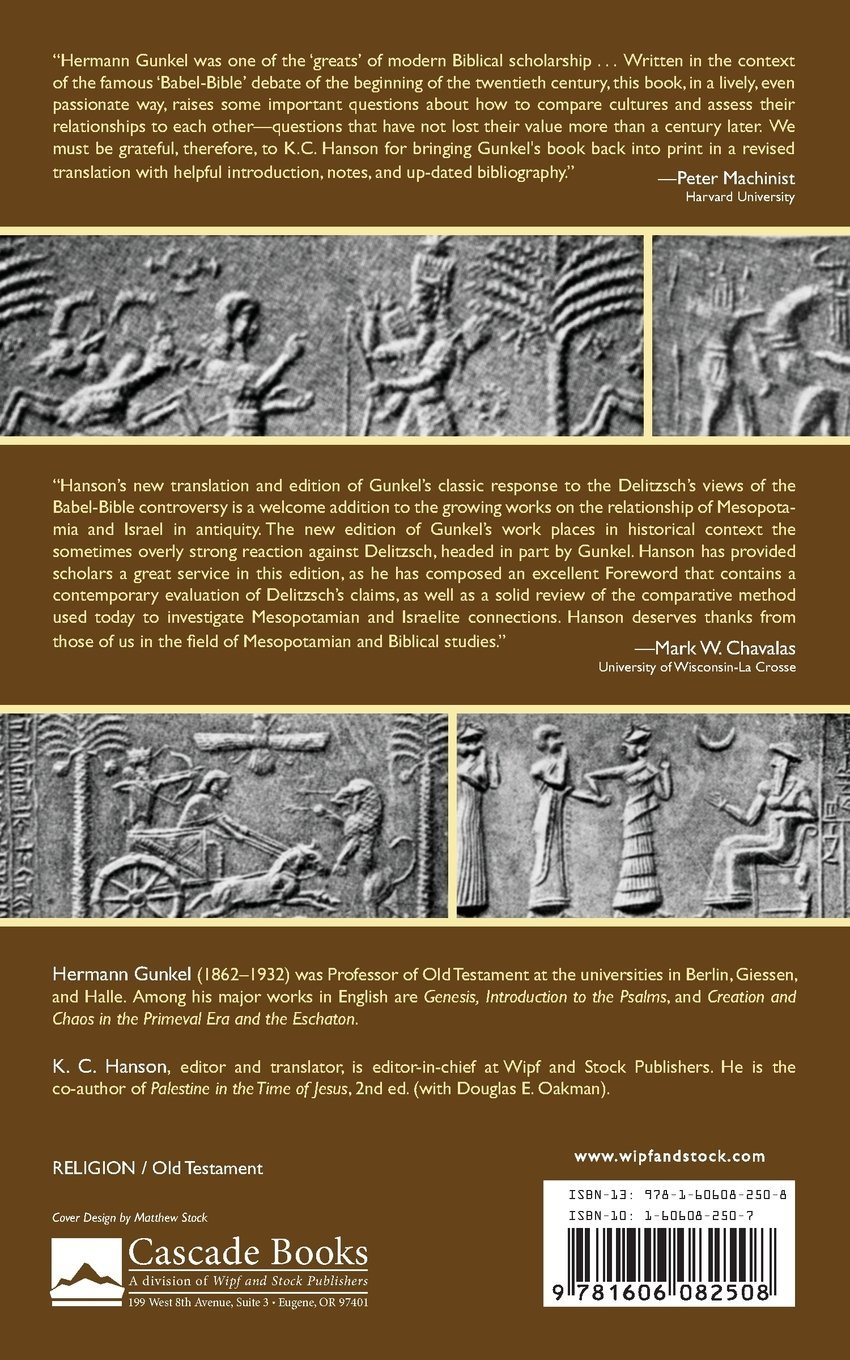 Israel And Babylon: The Babylonian Influence On Israelite Religion: Hermann  Gunkel, K C Hanson: 9781606082508: Amazon: Books