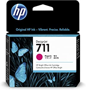 HP 711 29-ml Magenta Designjet Ink Cartridge (CZ131A) for HP DesignJet T120 24-in Printer HP DesignJet T520 24-in Printer HP DesignJet T520 36-in PrinterHP DesignJet printheads help you respond quickly by providing quality speed and easy hassle-free printing