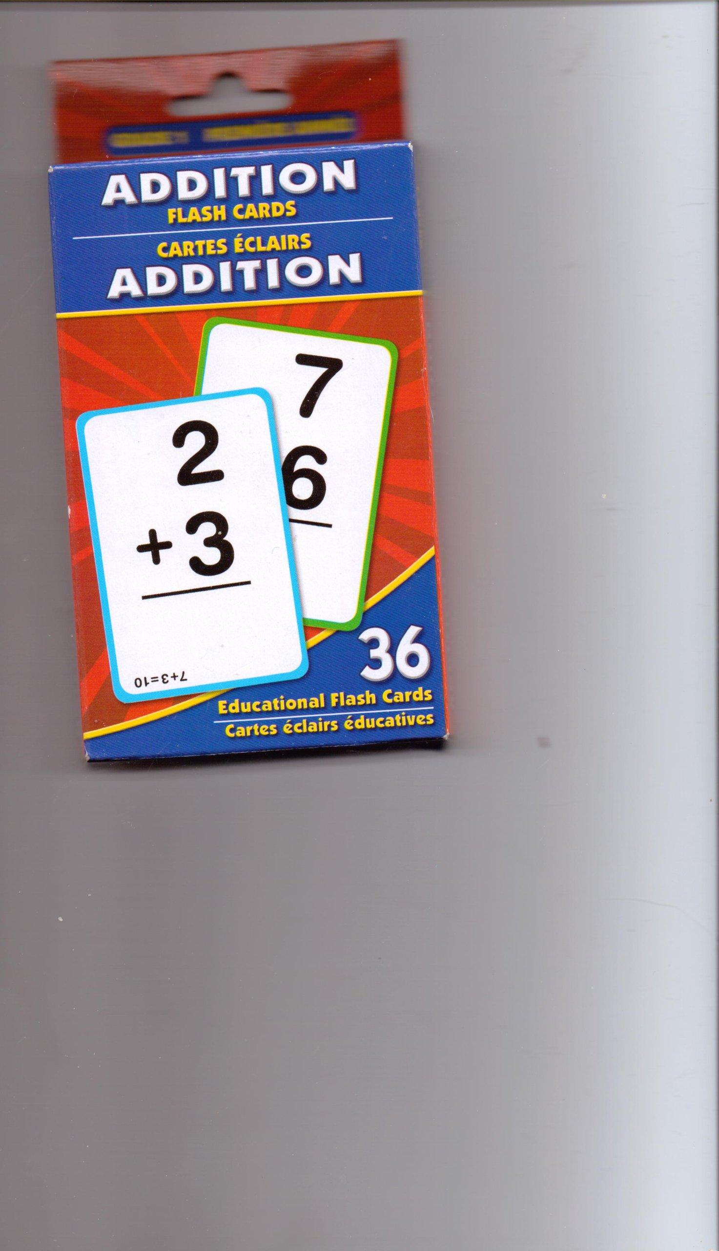 Addition Flash Cards PDF