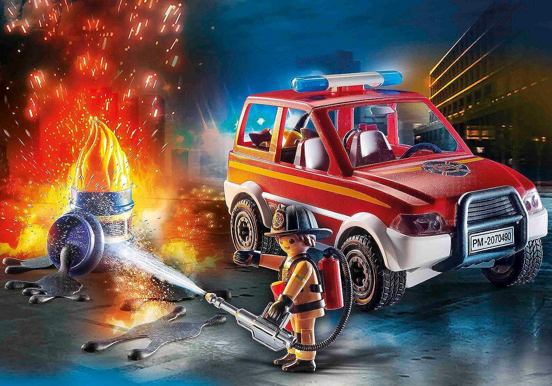 Playmobil City Fire Emergency