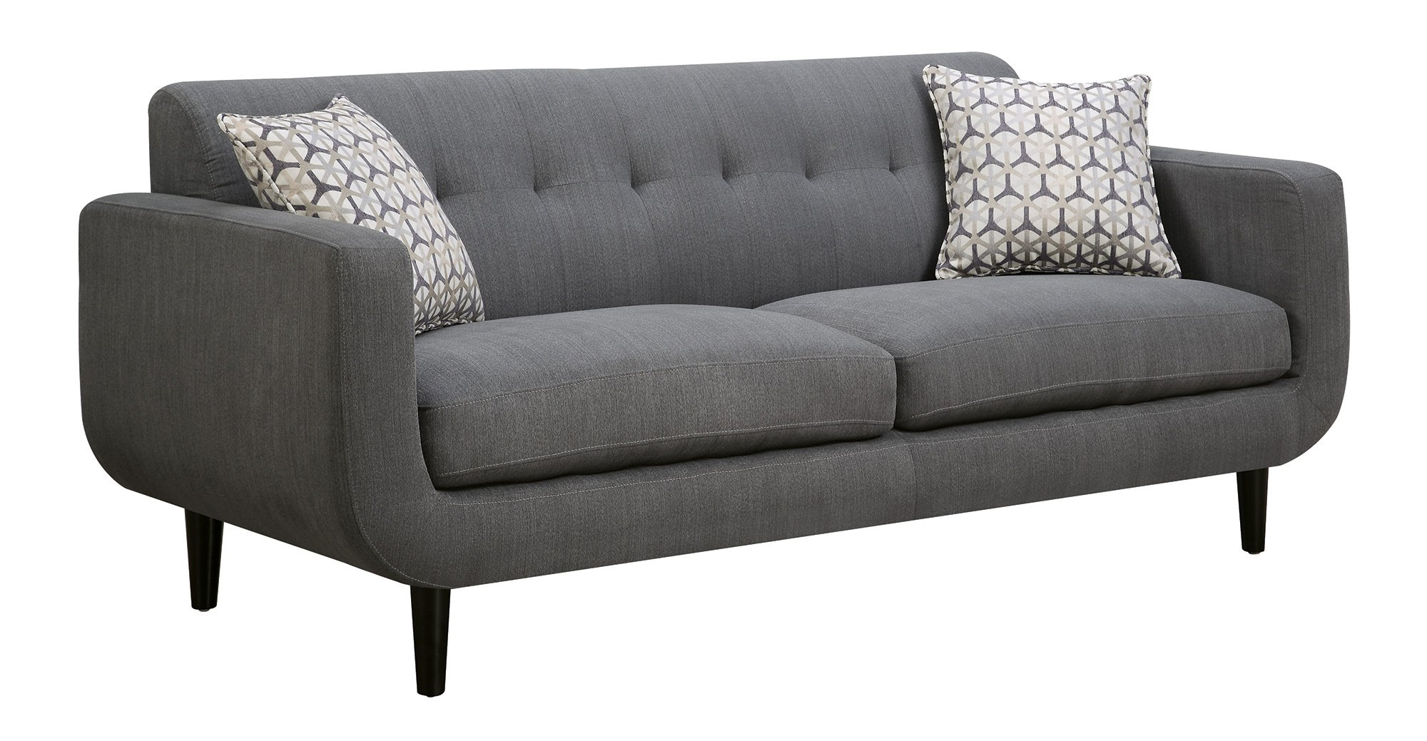 Coaster Home Furnishings Coaster 505201 Sofa, Grey, Stansall Collection
