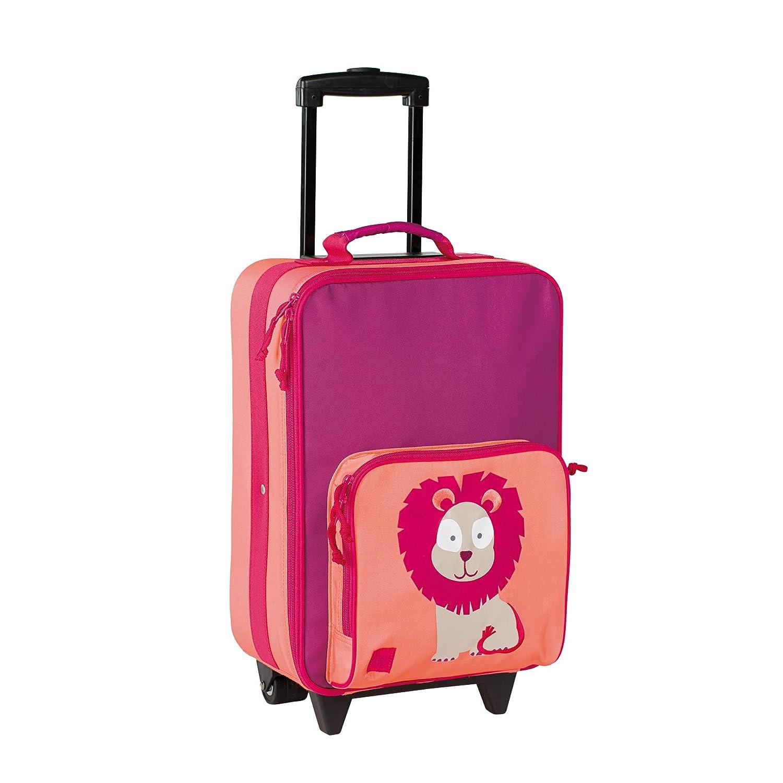 Lässig Trolley Kinderkoffer / Reisekoffer für Kinder Wildlife Lion 1204005717