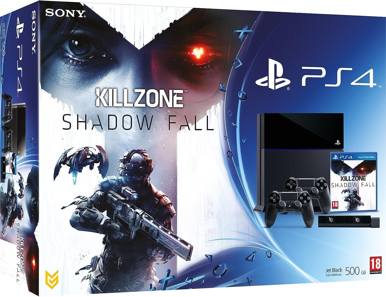 PlayStation 4 - Consola 500 GB + Killzone: Shadow Fall + 2 Dual Shock 4 + Cámara: Amazon.es: Videojuegos
