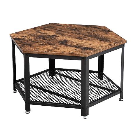 VASAGLE Table Basse Vintage, Table d\'appoint, Table de Salon ...