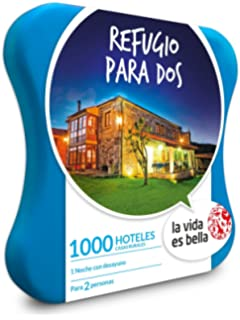 LA VIDA ES BELLA - Caja Regalo - REFUGIO PARA DOS - 1055 hoteles, casas
