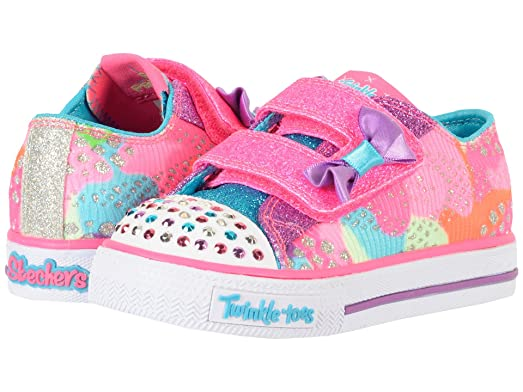 skechers girls light up sneakers