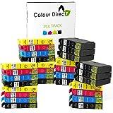 30 XL Colour Direct Cartucce di inchiostro compatibili Sostituzione Per Epson Work Sostituzione Per ce WF2010W WF2510WF WF2520NF WF2530WF WF2540WF WF-2630WF WF-2650DWF WF-2660DWF Stampanti 12 Nero 6 Ciano 6 Magenta 6 Giallo