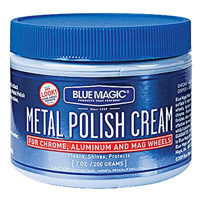 Blue Magic 400 7Oz Mtl Polish Cream: Automotive