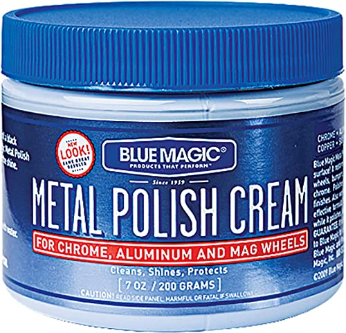 Blue Magic 400 7Oz Metal Polish Cream