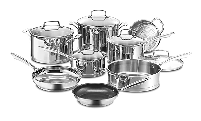 1. Cuisinart 89-13 Professional Stainless Cookware