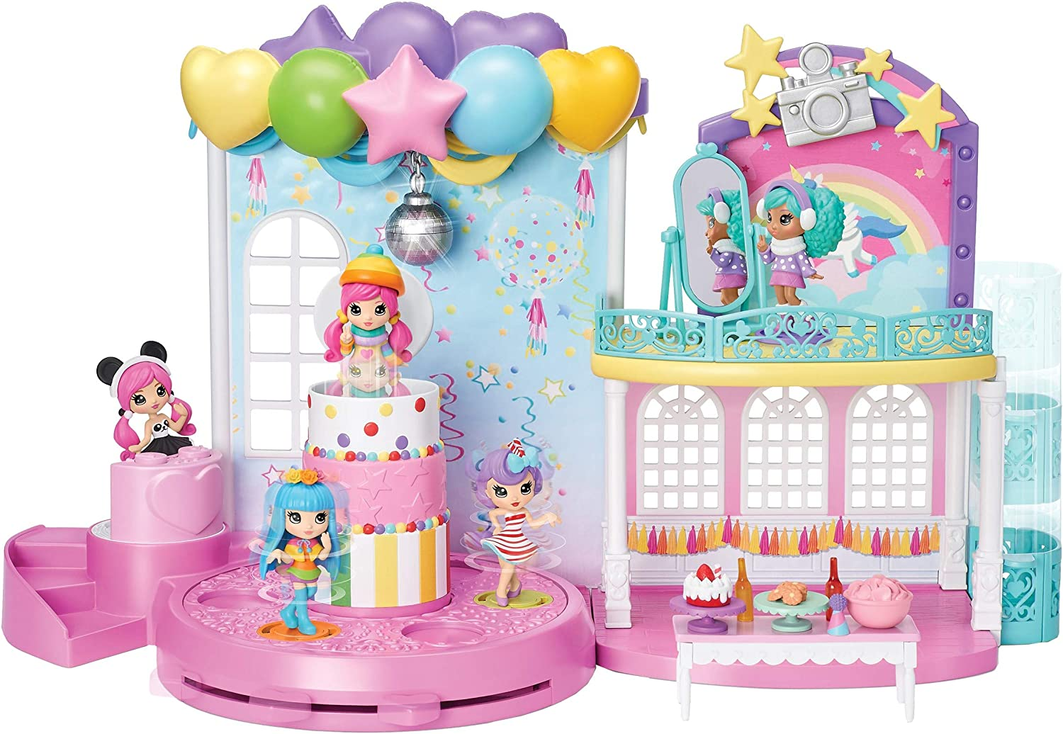 Multi-Colour Party Popteenies 6043875 Poptastic Party Playset