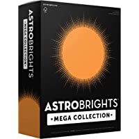 """Astrobrights Mega Collection, Colored Paper, Bright Orange, 625 Sheets, 24 lb/89 gsm, 8.5"""" x 11"""" - MORE SHEETS! (91619…"""
