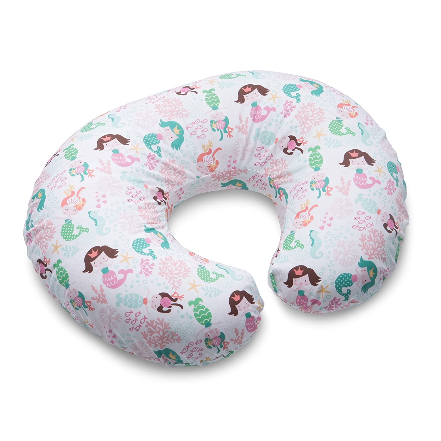 Boppy Pillow Slipcover, Classic Mermaids, Pink The Boppy Company 3100151K 6PK