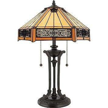 Quoizel tf6669vb 2 light tiffany table lamp in vintage bronze quoizel tf6669vb 2 light tiffany table lamp in vintage bronze mozeypictures Gallery