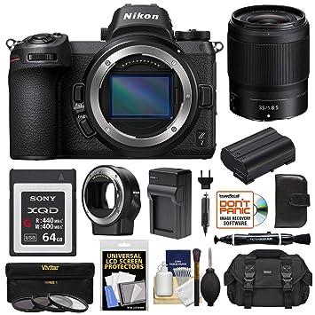 Amazon.com: Cuerpo de cámara digital Nikon Z7 sin espejo con ...