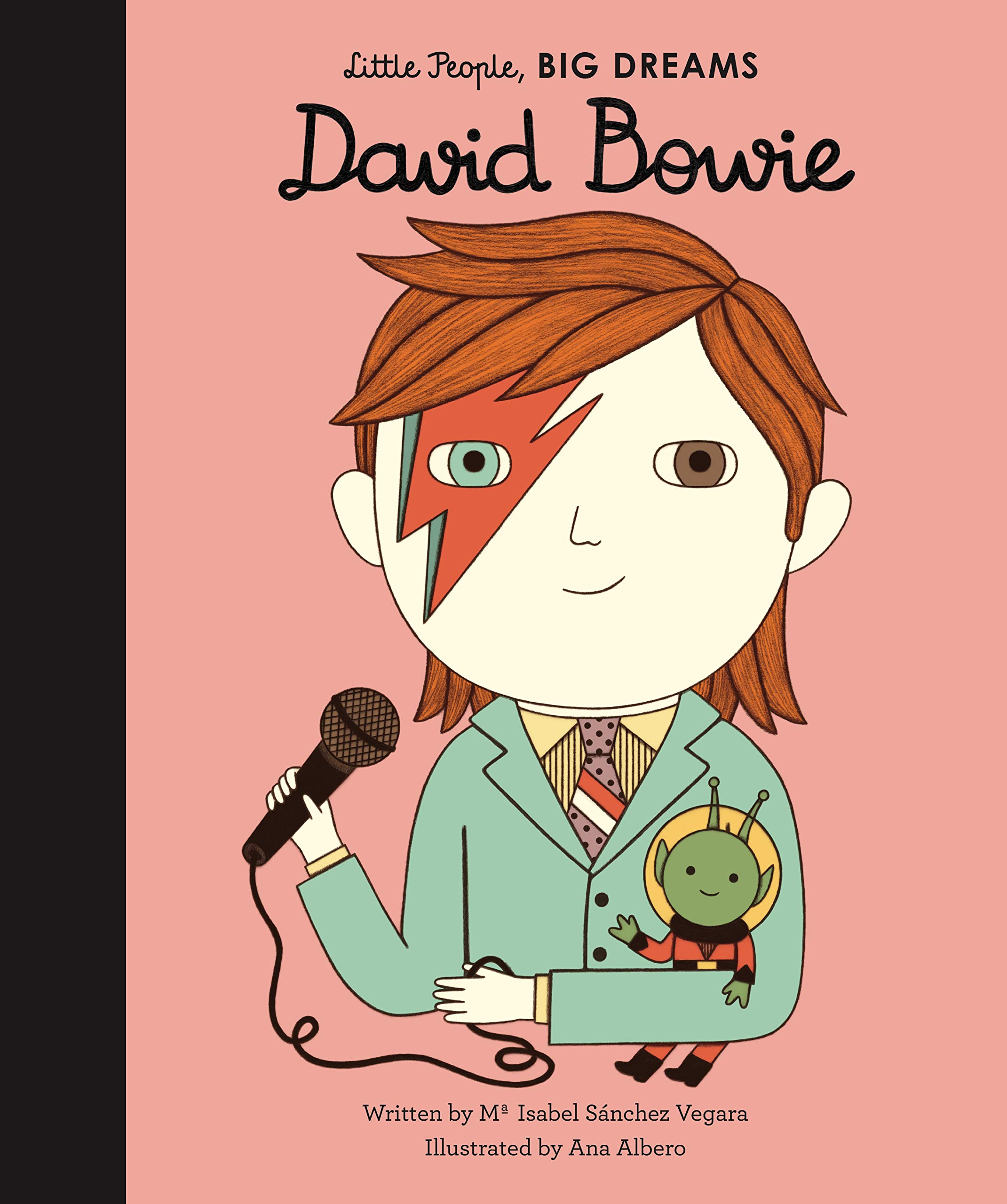 David Bowie  Little People Big Dreams Band 30