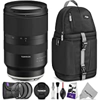 Tamron 28-75mm f/2.8 Di III RXD Lens for Sony E Mount Cameras w/Advanced Photo and Travel Bundle
