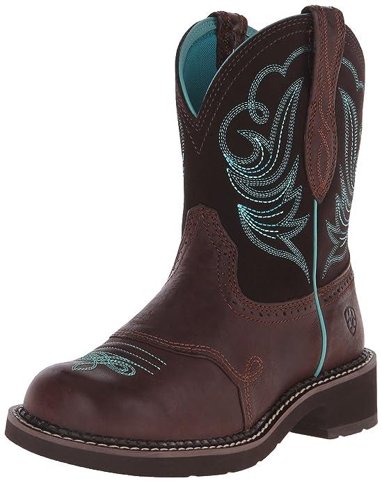 Amazon.com | Ariat Women's Fatbaby Heritage Dapper Western Cowboy ...