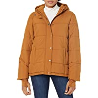 Amazon Essentials Heavy-Weight Hooded Puffer Coat Mujer