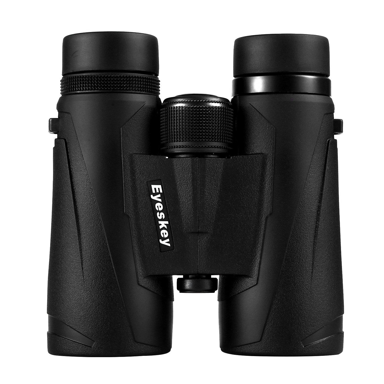 Eyeskey 8×32 8×42 10×32 10×42 プロフェッショナル 防水 双眼鏡 HDビジョン エクストラワイド視野 B06XRR92SJ Black-10x42 Black-10x42